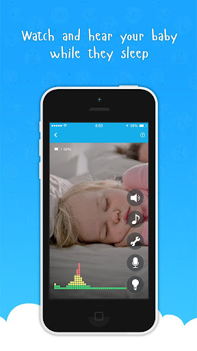 Ahgoo Baby Monitor - audio and video monitoring 2.1.73 Screenshots 2