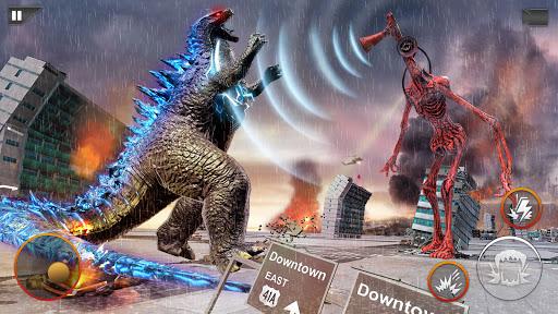 Monster Smash City - Godzilla vs Siren Head  screenshots 1