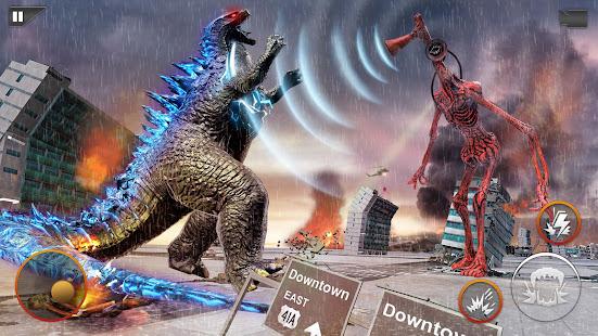 Monster Smash City - Godzilla vs Siren Head 1.0.3 screenshots 1