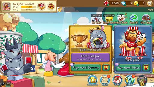 Dummy & Toon Poker Texas Online Card Game 3.2.594 screenshots 8