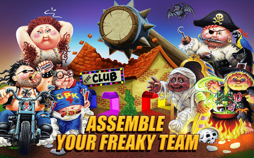Garbage Pail Kids : The Game apkpoly screenshots 15