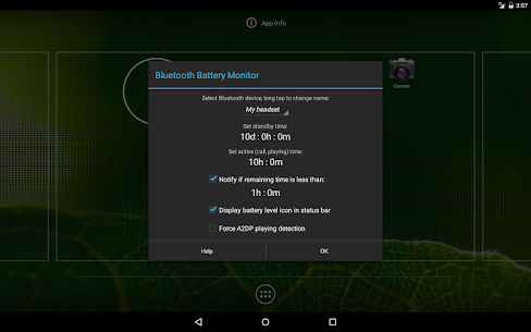 Bluetooth Battery Monitor Pro v1.20 [Patched] 5