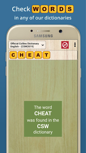 Word Checker - For Scrabble & Words with Friends android2mod screenshots 9