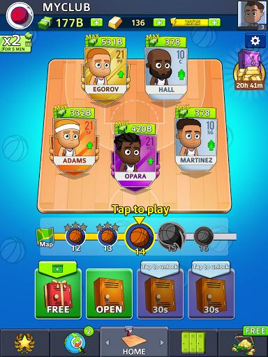Idle Five Basketball android2mod screenshots 13