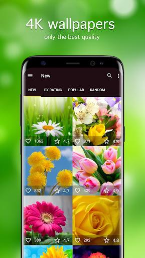 Flower Wallpapers 4K 5.1.0 screenshots 1