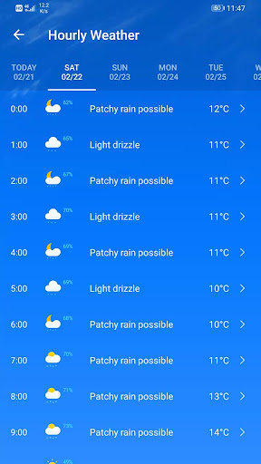 Weather Forecast 2.3.37 Screenshots 4