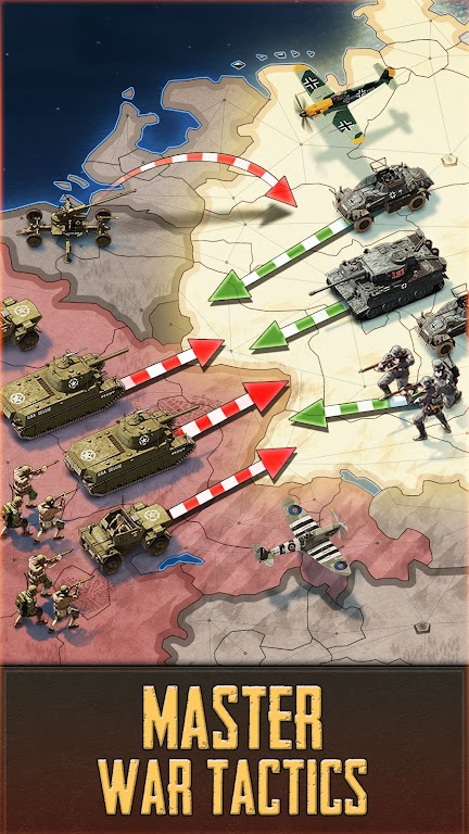 Call of War - WW2 Multiplayer Strategy Game poster 4