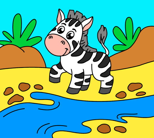 Coloring pages for children: animals 1.1.2 screenshots 5