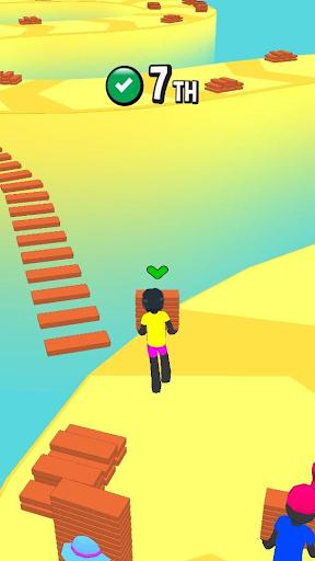 Stickman Fall | Running Stick Guys 3D Varies with device screenshots 4