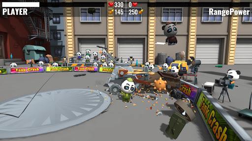 Tank Crash : combats de robots APK MOD (Astuce) screenshots 5