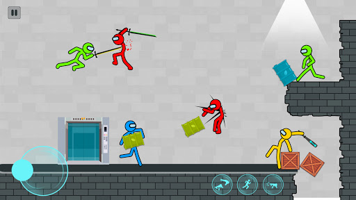 Supreme Stickman Fighting: Stick Fight Games android2mod screenshots 2