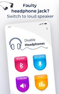 Enable Speaker Volume - Disable Headphone Mode