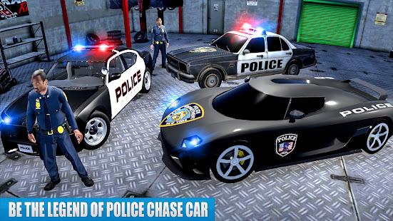US Police Car driving Chase 3D  Screenshots 4