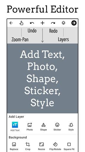 Add Text app: Text on Photo Editor  screenshots 1