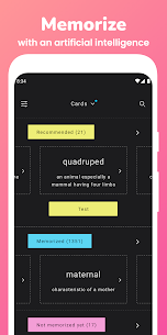 Memorize: Learn GRE Vocabulary with Flashcards 1.5.1 Apk 1