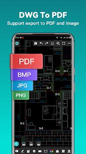 DWG FastView-CAD Viewer & Editor screenshots 3