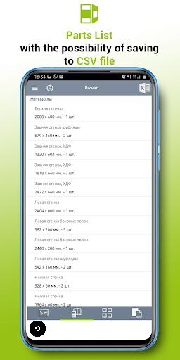 3D Closet: Calculation  Screenshots 5