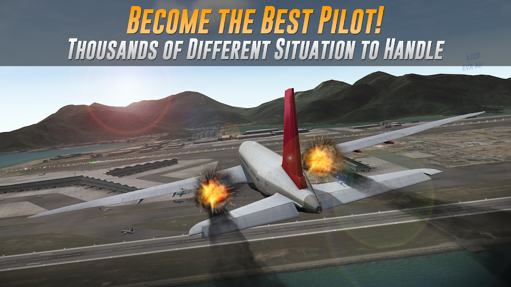 Airline Commander - A real flight experience  poster 2