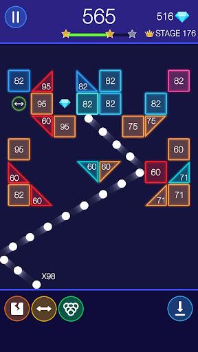 Bricks Breaker - Glow Balls 1.20.208 Screenshots 8
