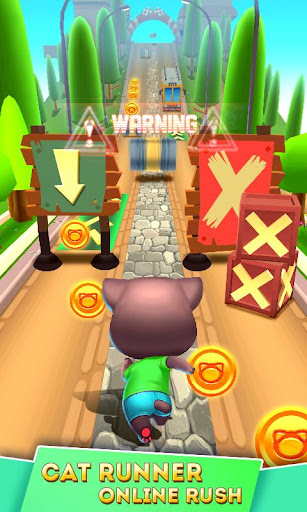 Cat Runner: Decorate Home modavailable screenshots 10