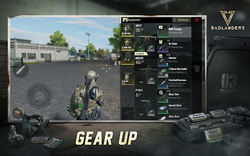 Schermata di Badlanders