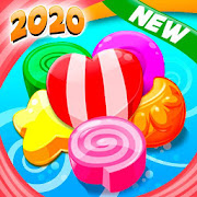 New Sweet Candy -  Match 3D -  Connect 3D Game