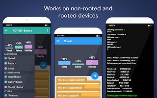 screenshot of Root Booster
