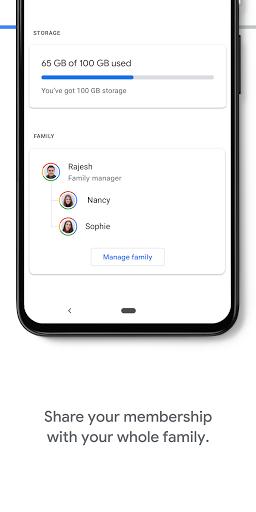 Google One screenshots 5