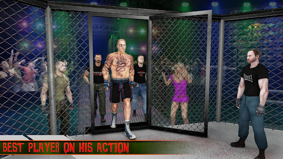 martial art cage battle king: mma fighting games hack