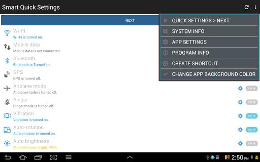 Smart Quick Settings 2.7.2 Screenshots 11