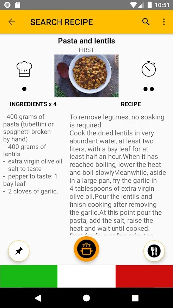 What Cooking Today? Italian Recipes screenshot 4
