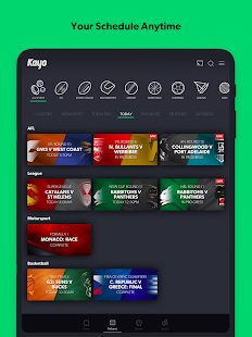 Kayo Sports screenshots 12