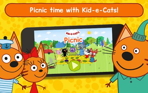 Kid-E-Cats: Picnic with Three Catsu30fbKitty Cat Games  screenshots 18