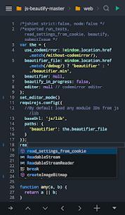 Spck Code Editor / JS Sandbox / Git Client 1