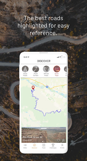 REVER: GPS, Navigation, Discover, Maps & Planner modavailable screenshots 2