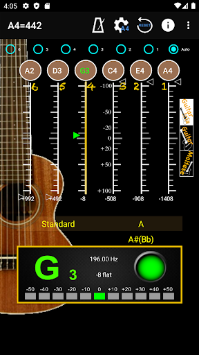 GuitarTuner - Tuner for Guitar apktram screenshots 3