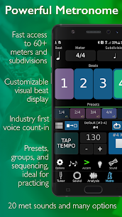 TonalEnergy Tuner and Metronome APK [PAID] Download 5