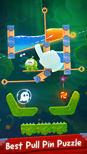 Om Nom Pin Puzzle android2mod screenshots 2