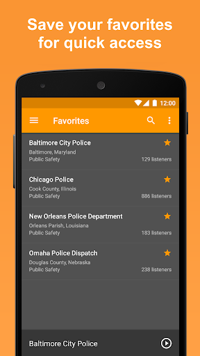 Scanner Radio - Fire and Police Scanner modavailable screenshots 6