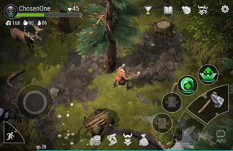Frostborn: Coop Survival Mod Apk