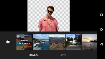 screenshot of Moto Photo Editor