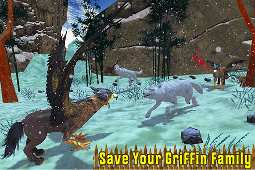Wild Griffin Family Flying Eagle Simulator  screenshots 3