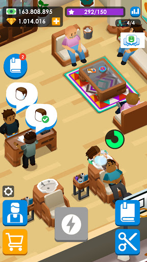 Idle Barber Shop Tycoon - Business Management Game 1.0.1 screenshots 6