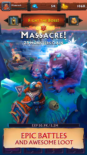 Clicker Idle Heroes RPG - Never Ending Dungeon  screenshots 1