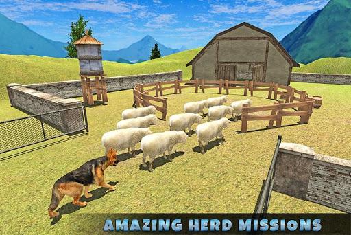 Real Dog Shephard World SIM 1.1 screenshots 5