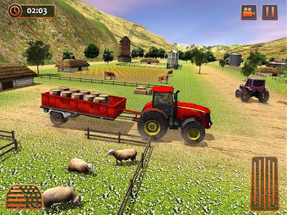 Farm Tractor Cargo Driving Simulator 20 screenshots 8