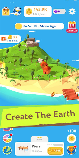 Evolution Idle Tycoon - Earth Builder Simulator  screenshots 17