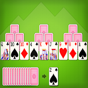 TriPeaks Solitaire 4 in 1 Card Game