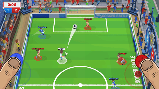 Télécharger Bataille de Football (Soccer Battle) APK MOD (Astuce) screenshots 1