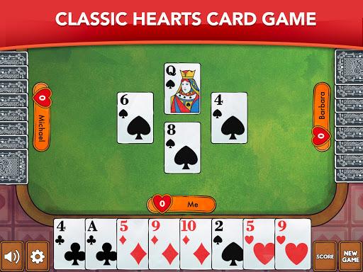 Hearts - Card Game Classic apktram screenshots 9